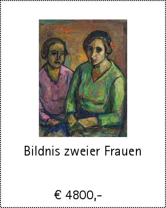 Bildnis zweier Frauen