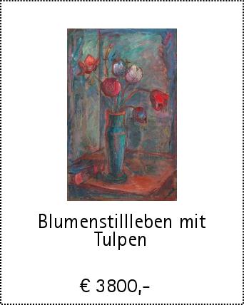 Blumenstillleben mit Tulpen