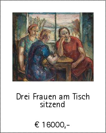 Drei Frauen am Tisch sitzend