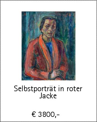 Selbstporträt in roter Jacke