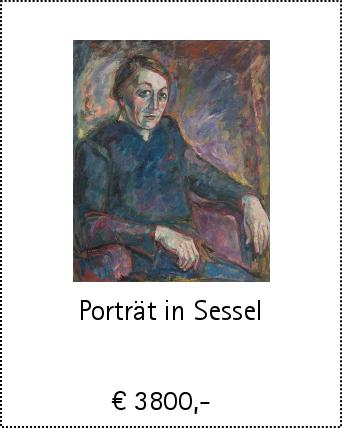 Porträt in Sessel