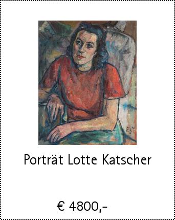 Porträt Lotte Katscher